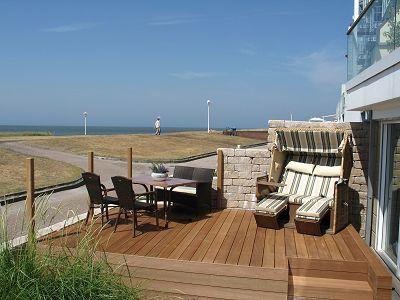 Ferienwohnung Villa Fedora, App. Meersicht 5 Sterne In Norderney
